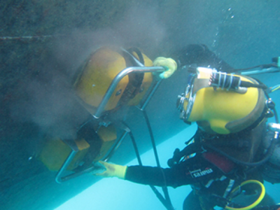 Home Serviços Limpeza Reparos Navio Pacific Sea Serviços Subaquáticos Santos São Paulo